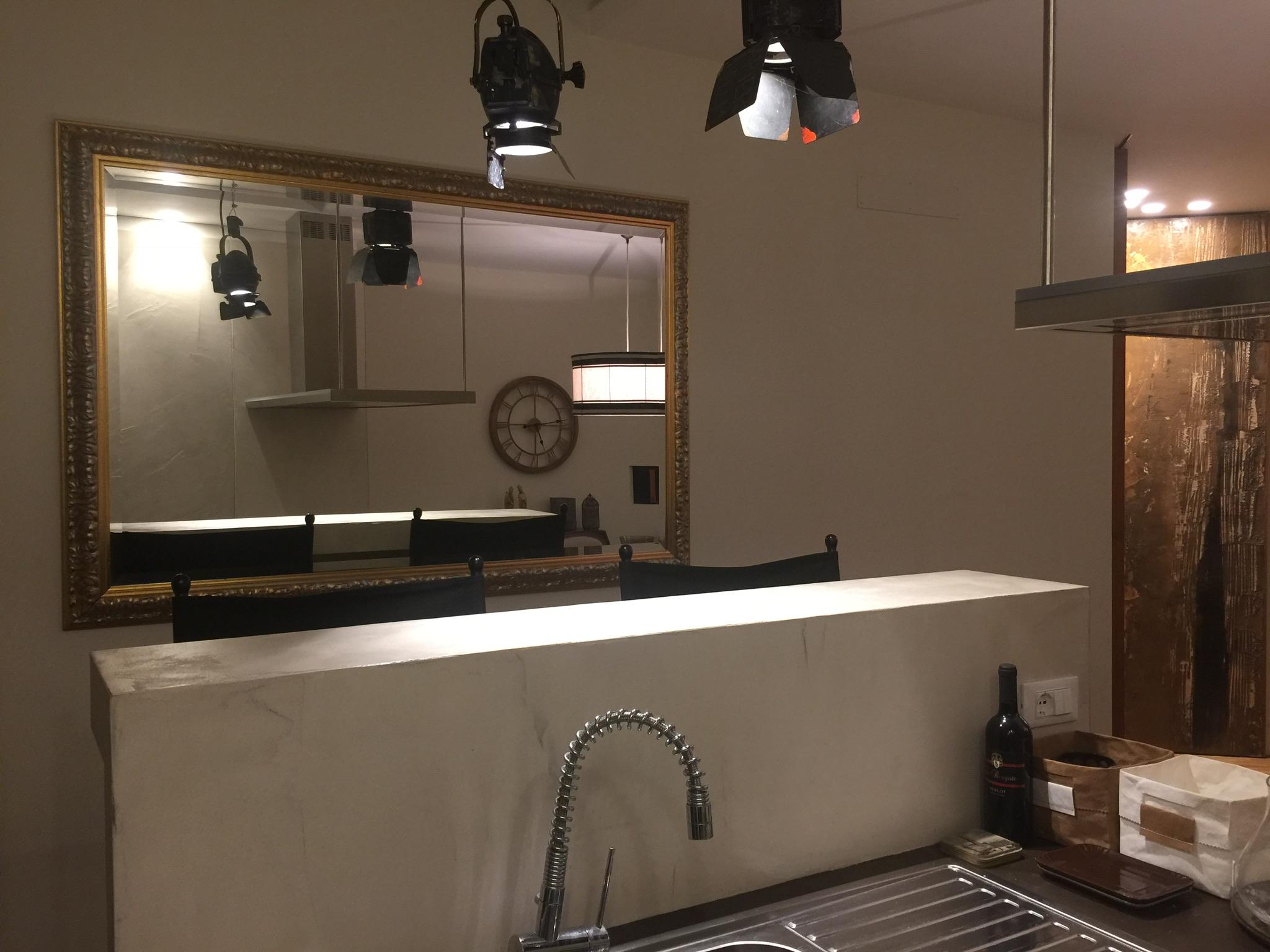 Arredare con gli specchi maria luisa leoni - Arredare cucina grande ...